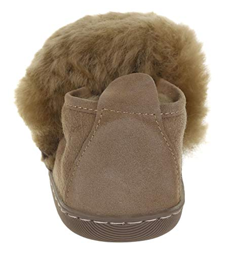 17 Leather Beige Womens Vogar VG Lined Wool Beige Sheep Furry Slippers X5xZv