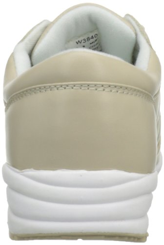 Propet Womens Lavabile Walker Sneaker Bone / Wht