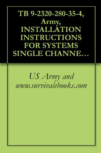4 Channel Fm Aircraft - TB 9-2320-280-35-4, Army, INSTALLATION INSTRUCTIONS FOR SYSTEMS SINGLE CHANNEL GROUND AND AIRBORNE RADIO SYSTEM (SINCGARS) AN/VRC-88F, AN/VRC-89F, AN/VRC-90F, ... FOR VEHICLES TRUCK, UTILITY, 4-DOOR: CARGO