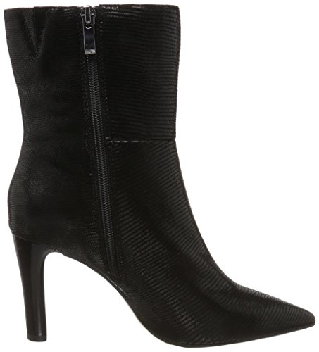 Caprice Damen 25300 Stiefel Schwarz (Black Reptile)
