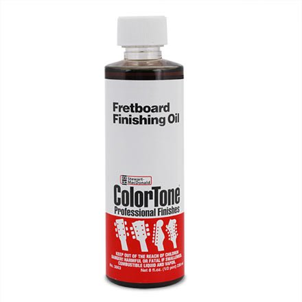 ColorTone Fretboard Finishing Oil, 8-Ounce Bottle