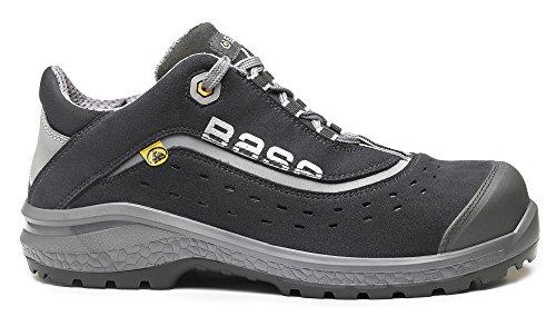 Black Plus S1P Trainer Shoe Nonslip ESD Style BO886 Classic Laced Safety Orange Base Unisex EqY7wv