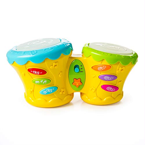 - Fat Brain Toys Beat Bop Baby Bongo Baby Toys & Gifts for Babies