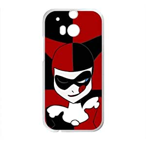 Black and red joker Cell Phone Case for HTC One M8
