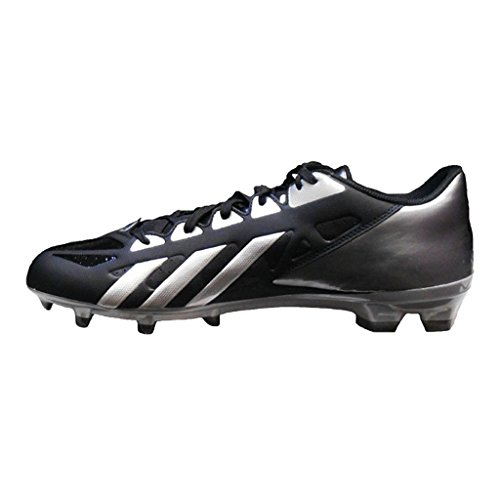 Adidas Skitten Rask Lav Fotball Klamp Svart / Platina / Titan