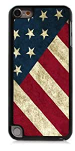 HeartCase Hard Case for Apple itouch 5g 5th Generation ( USA FLAG )
