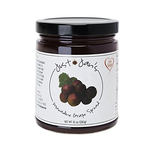 Just Jan's All Natural Muscadine Jelly 10 oz