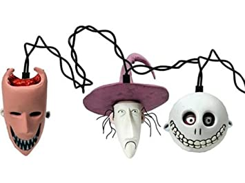Amazon.com: Tim Burton's Nightmare Before Christmas Holiday Lights ...