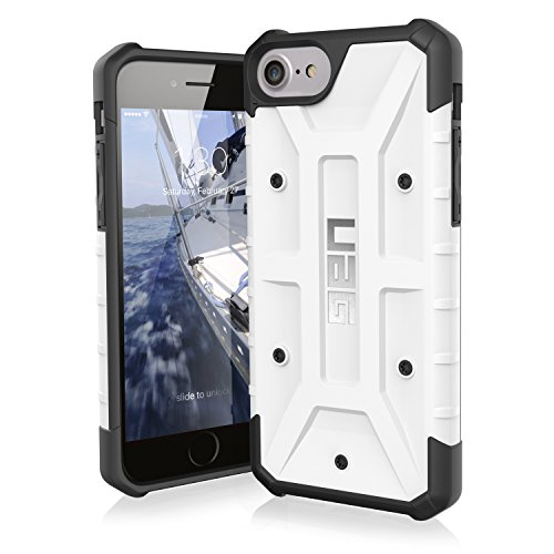 UAG iPhone 8 / iPhone 7 / iPhone 6s [4.7-inch screen] Pathfinder Feather-Light Rugged [WHITE] Military Drop Tested iPhone Case]()