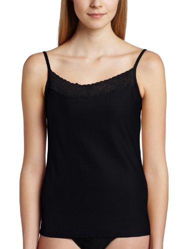 ExOfficio Women's Give-N-Go Lacy Shelf Bra Camisole, Black, Small
