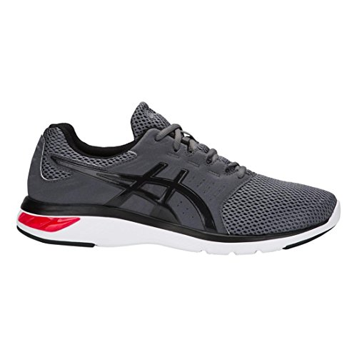 Asics Heren Gel-moya Running Sneaker Schoenen Carbon / Rood