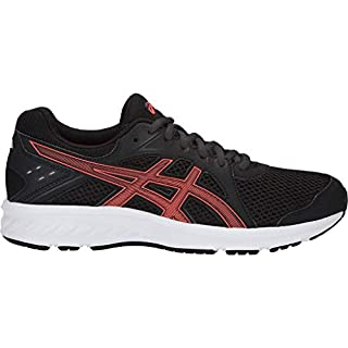 ASICS Women's Jolt 2 Running Shoes, 11M, Black/Flash Coral