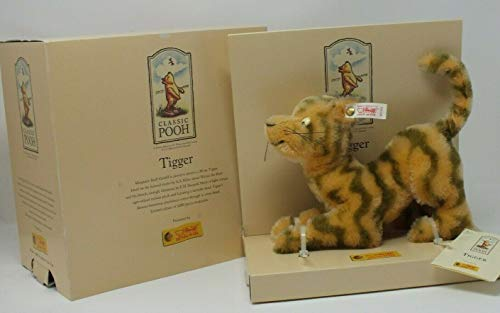(Steiff Disney Tigger Mohair 20cm Limited Edition Winnie the Pooh Collection)