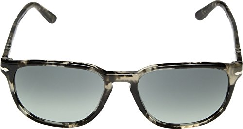 Persol - Model No : PO3019S - Lunettes de soleil Mixte SPOTTED GREY BLACK