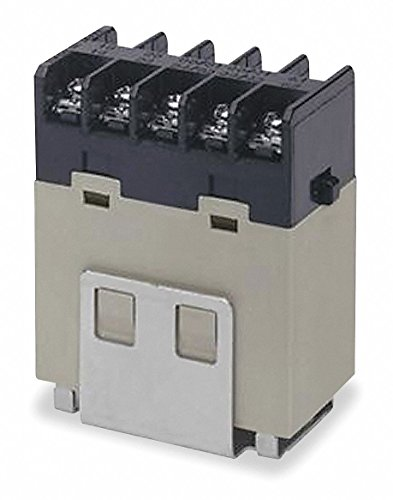 (Omron G7J-3A1B-B-W1 AC100/120 General Purpose Relay With Mounting Bracket, Screw Terminal, W-Bracket Mounting, Triple Pole Single Throw Normally Open and Single Pole Single Throw Normally Closed Contacts,  18 to 21.6 mA Rated Load Current, 100 to 120 VAC Rated Load Voltage)