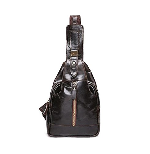 casual Shoulder leather Bag Bag men's Bag messenger Cross body Sling Bag Men's Casual sport Bag breast Messenger Bag C Bag 5qwRxE7SW
