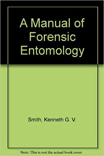 A Manual Of Forensic Entomology Smith Kenneth G V 9780801419270 Amazon Com Books