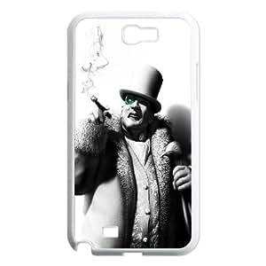 The Penguin Batman Arkham City Game Samsung Galaxy N2 7100 Cell Phone Case White Gift pjz003_3349643