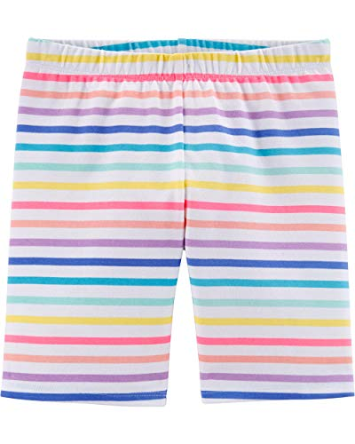 Osh Kosh Girls' Big Bike Shorts, Rainbow Stripe, ()
