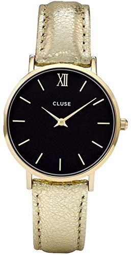 Cluse Reloj Analógico para Mujer de Automático con Correa en Cuero CL30037