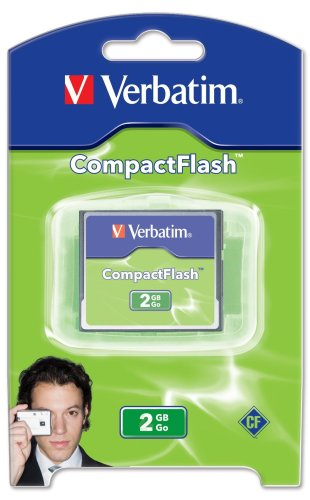 Verbatim 2GB CompactFlash Memory Card 47012 (2 Gig Cf compare prices)