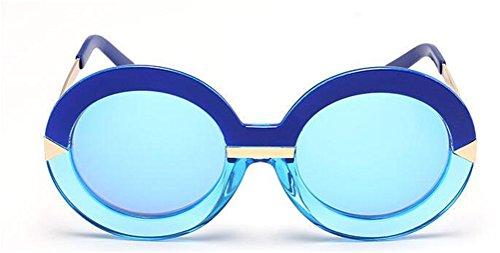 GAMT Retro Style Round Sunglasses for Women Blue - Solaray Glasses