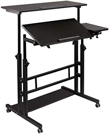 Hadulcet Mobile Standing Desk