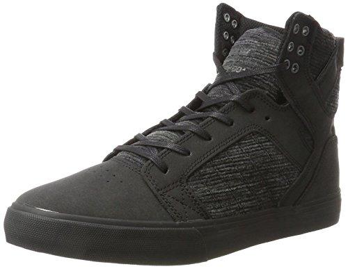 Supra Skytop - Sneaker a Collo Alto Uomo Nero (Black Multi-black)
