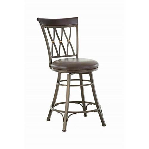 Steve Silver Company Bali Swivel Counter Chair, 19