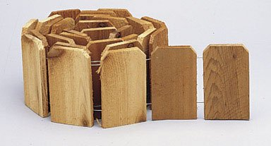 Edging Lawn Cedar 6''X10'