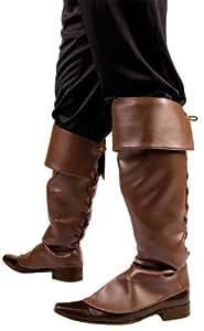 Cubre botas marrones para adultos