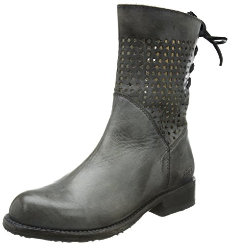 bed Bridgewater Women's stu Leather Boot Grey Grain Rustic Full xrrnwq