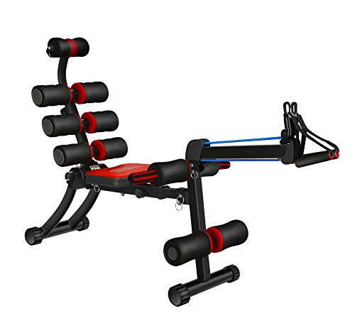 SYOSIN 22 in 1 Sit-up Exerciser Ab Machine Workout Fitness Equipment Home Gym with Rowing Machine Compatible Men Women