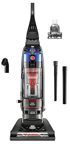 Hoover WindTunnel 2 Rewind Bagless Corded Upright Vacuum UH70825, Blue