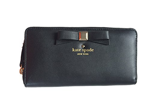 e7b38d6202e9 Kate Spade New York Holly Street Lacey Black Leather Zip Around Wallet -  Buy Online in UAE. | kate spade new york Products in the UAE - See Prices,  ...