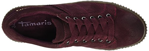 Tamaris Top Low 23721 Red Sneakers Women's Merlot x10FTq40Bw