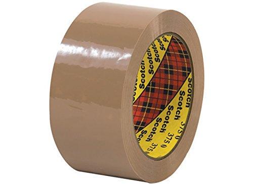 RetailSource T901375Tx12 3M 375 Carton Sealing Tape, 2
