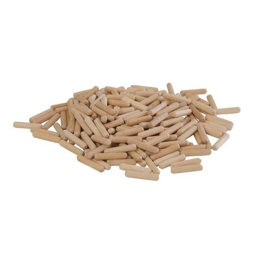 200 Pack 6mm X 30mm Dowel Pins - Woodwork, Carpentry, Cabinet Making Loops