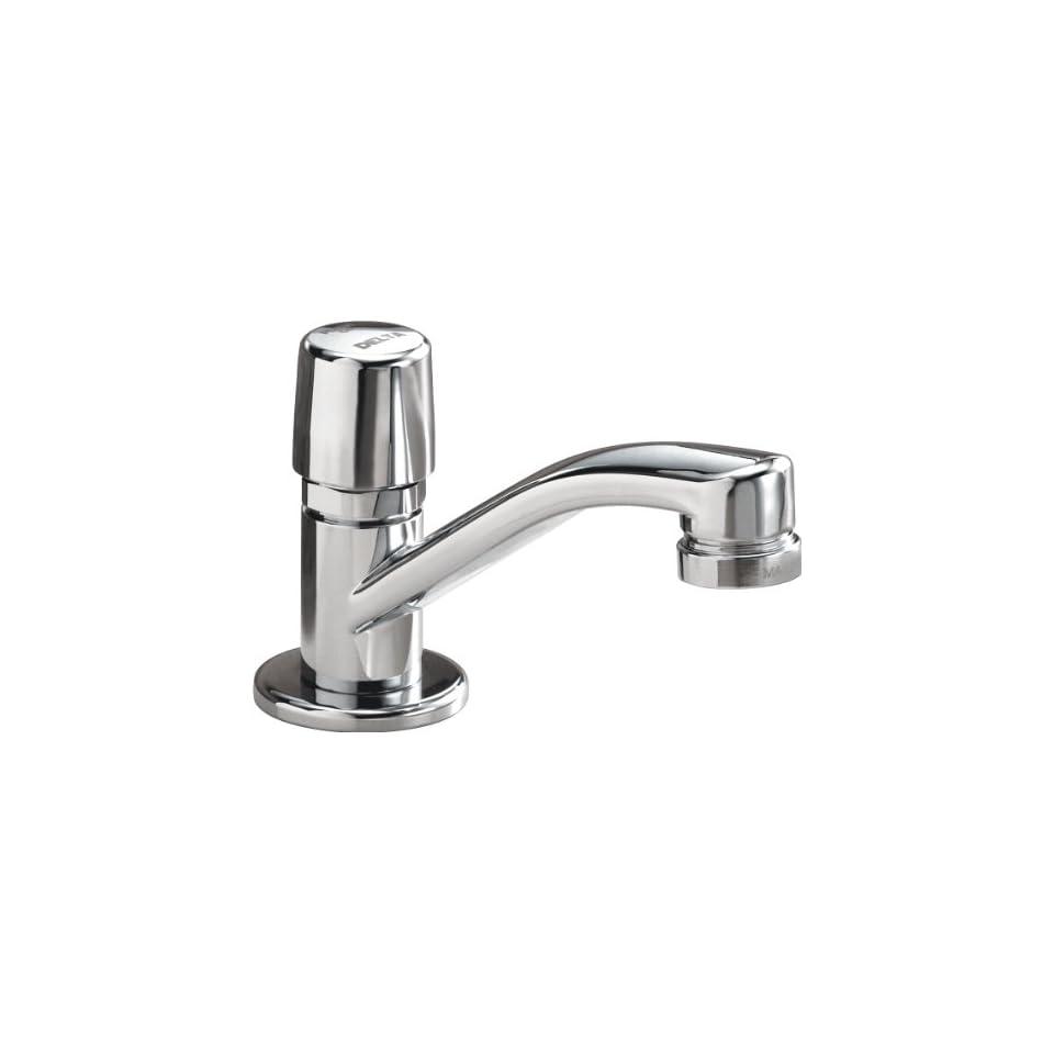 Delta Faucet 701LF HDF Metering, Single Handle Metering Faucet, Chrome