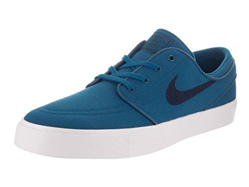 Galleon - Nike Men's Zoom Stefan Janoski Cnvs Skate Shoe Industrial  Blue/Obsidian 9.5