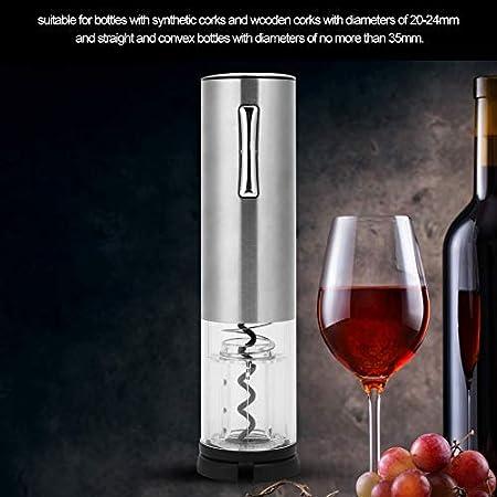 Abrebotellas USB, abrebotellas eléctrico recargable Abrebotellas completamente automático Smart LED Visual Botella de apertura Sacacorchos