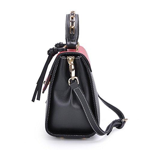 Hombro Nueva Gwqgz Gules Tendencia Spanning Sesgar Vintage Bolsa Solo Bolso Black Señoras Moda wrrxPqUTd0
