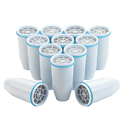 Price comparison product image ZeroWater,  Replacement Filters,  12-Pack,  BPA-Free Replacement Water Filters for ZeroWater Pitchers and Dispensers,  NSF Certified to Reduce Lead and Other Heavy Metals