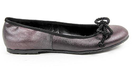 Versace 19.69 Zapatos Bailarina Para Mujer 100% Piel de Becerro