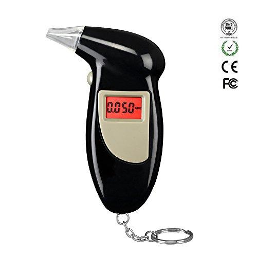 Alcohol-Breathalyzer-Tester-Keychain-Baiouda-Portable-Professional-BAC-Breathalyzer-Digital-Breath-Analyzer-LCD-Display-with-5-Mouthpieces-BOD-68S