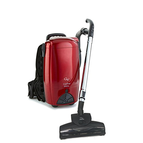 GV 8 Quart Powerful lightweight HEPA BackPack Vacuum blower Loaded w 2 yr warranty (Turbo Duster)