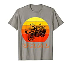 This Tee is a perfect gift for your grandfather, dad or husb who is a off-road biker and dirt enthuasist. Your brother or son will appreciate your unique gift for true fans of off-road adventures on a wonderful Russian motorcycle with a sidec...