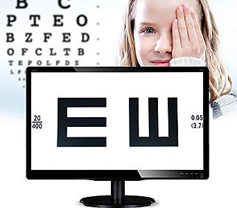 Huanyu Gráfico de agudeza visual digital óptico LCD de 18.5 pulgadas (47 cm) de 18.5 pulgadas (18.5 pulgadas) de visión Inteligente Probador de optometría Proyector AC100-240V