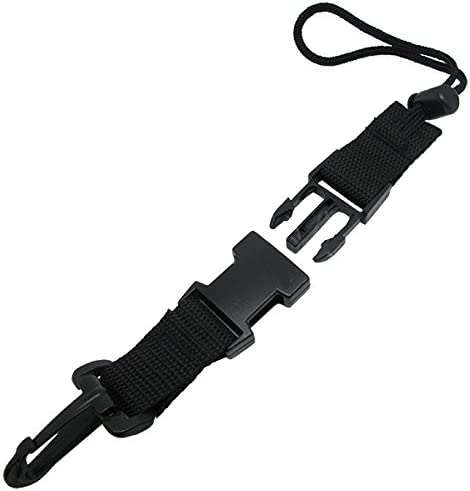 Scuba Dive Light Camera BCD Lanyard with Quick Release Buckle Clip