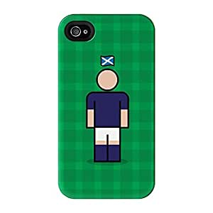 Scotland Full Wrap High Quality 3D Printed Case for iPhone 4 / 4s by Blunt Football International + FREE Crystal Clear Screen Protector